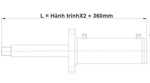 Bản-vẽ-xi-lanh-thủy-lực-150-tấn-Hulomech-mặt-bích-trước-khi-đi-hết-hành-trình